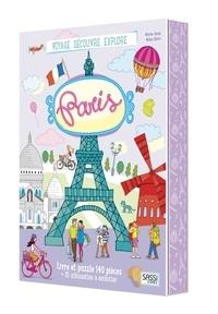 Voyage, découvre, explore Paris- Avec puzzle de 140 pièces et 10 silhouettes à emboiter - Matteo Gaule | Showmesound.org