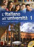 Matteo La Grassa - L'Italiano all'università 1 - Corso di lingua per studenti stranieri A1-A2. 1 CD audio
