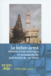 Matteo Porrino - Le béton armé - Histoire d'une technique et sauvegarde du patrimoine du 20e siècle.