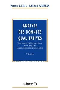 Matthew-B Miles et A-Michael Huberman - Analyse des données qualitatives.
