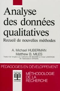 Matthew-B Miles et A-Michael Huberman - .