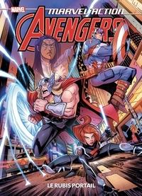 Matthew-K Manning et Jon Sommariva - Marvel Action Avengers  : Le rubis portail.