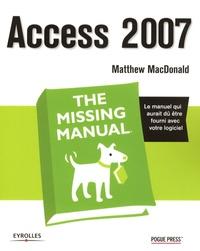 Matthew MacDonald - Access 2007.