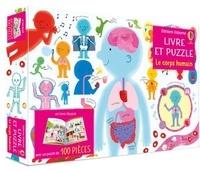 Matthew Oldham et Tony Neall - Le corps humain - Un livre cartonné et 1 puzzle de 100 pièces.