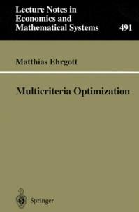 Matthias Ehrgott - Multicriteria Optimization.