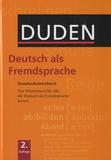 Matthias Wermke et Kathrin Kunkel-Razum - Deutsch Als Fremdsprache.