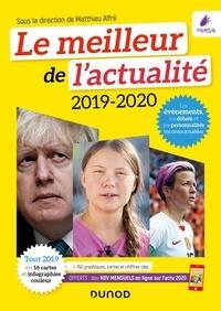 Matthieu Alfré et Léa Antonicelli - Le meilleur de l'actualité 2019-2020 - Concours et examens 2020 + Accès gratuit tous les mois à l'Actu 2020 sur dunod.com.