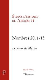 Matthieu Arnold et Gilbert Dahan - Nombres 20, 1-13 - Les eaux de Mériba.