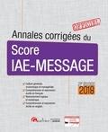 Matthieu Basseur et Rémi Bourguigon - Annales corrigées du score IAE-message.