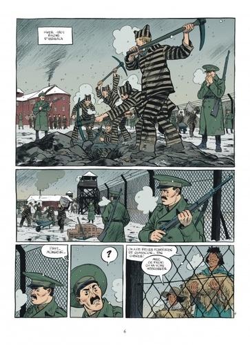 Esteban Tome 4 Prisonniers du bout du monde