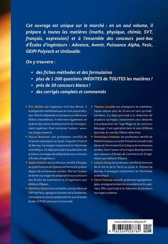 Intégrer les écoles d'ingénieurs post-bac. Avenir, Puissance Alpa, Fésic, Geipi Polytechnique, ESIEE, Advance, Efrei, Unilasalle 2e édition