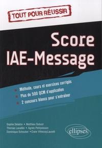 Matthieu Dubost et Sophie Delaitre - Tout pour réussir, score IAE-message.