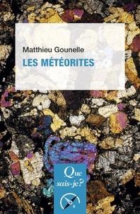 Matthieu Gounelle - Les météorites.