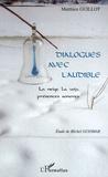 Matthieu Guillot - Dialogues avec l'audible - La neige, la voix, présences sonores.