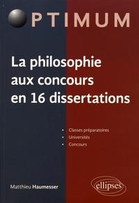Galabria.be La philosophie aux concours en 16 dissertations Image