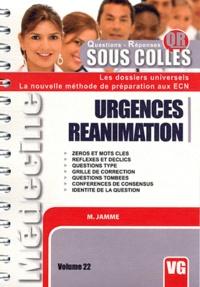 Matthieu Jamme - Urgences réanimation.