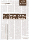 Matthieu Mével - La littérature théâtrale - Entre le livre et la scène.