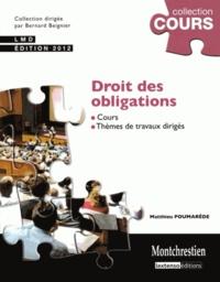 Deedr.fr Droit des obligations 2012 - Cours et travaux dirigés Image
