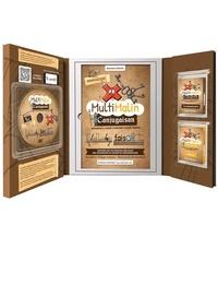 Matthieu Protin - Multimalin conjugaison imparfait, passé composé, passé simple - Coffret avec un cahier d'apprentissage, 2 jeux de 48 cartes et un DVD. 1 DVD