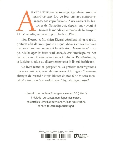 Les folles histoires du sage Nasredin  avec 1 CD audio MP3