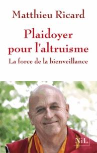 Histoiresdenlire.be Plaidoyer pour l'altruisme - La force de la bienveillance Image