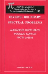 Matti Lassas et Alexander Katchalov - .