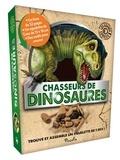 Maud Brougère et Nestor Taylor - Chasseurs de dinosaures. Trouve et assemble un squelette de T. rex ! - Avec un squelette de T. rex de 13x18 cm et des outils pour creuser.