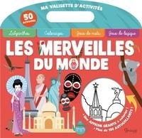 Maud Brougère et  Desinz - Les merveilles du monde - Contient un poster géant, 100 autocollants.