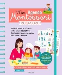 Maud Grelet et Vanessa Robidou - Mon agenda Montessori - Avec 1 stylo.