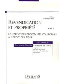 Checkpointfrance.fr Revendication et propriété - Du droit des procédures collectives au droit des biens Image