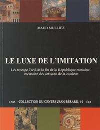 Openwetlab.it Le luxe de l'imitation - Les trompe-l'oeil de la fin de la République romaine, mémoire des artisans de la couleur Image