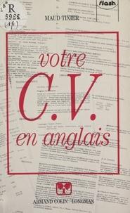 Maud Tixier - Votre CV en anglais.