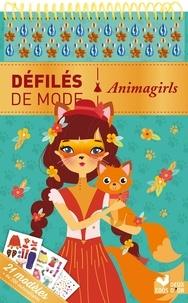Maude Guesné - Animagirls - 21 modèles et plus de 250 autocollants.