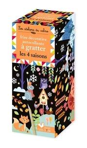 Maude Guesné - Frise décorative autocollante à gratter les 4 saisons.