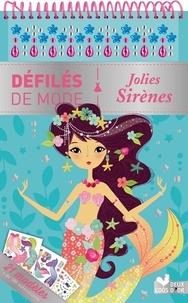 Maude Guesné - Jolies Sirènes - 21 modèles et plus de 180 autocollants.