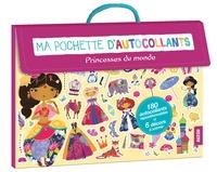 Maude Guesné - Ma pochette d'autocollants - Princesses du monde.