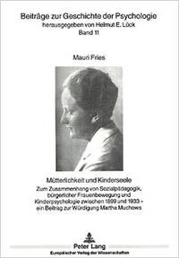 Histoiresdenlire.be Mütterlichkeit und Kinderseele - Zum Zusammenhang von Sozialpädagogik, bürgerlicher Frauenbewegung und Kinderpsychologie zwischen 1899 und 1933 Image