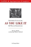 Maurice Abiteboul - As you like it - Lectures d'une oeuvre de William Shakespeare.