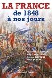 Maurice Agulhon et André Nouschi - La France de 1848 à nos jours.
