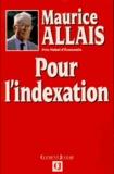 Maurice Allais - Pour l'indexation.