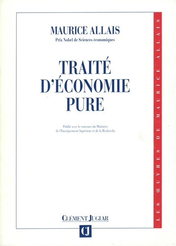 Traité d'économie pure 3e édition