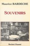 Maurice Bardèche - Souvenirs.