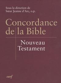 Maurice Bardy et Pierre Sandevoir - Concordance de la Bible - Nouveau Testament.