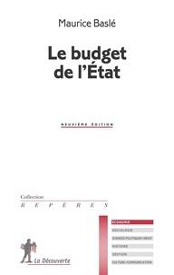 Maurice Baslé - Le budget de l'Etat.