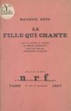 Maurice Betz et Georges Aubert - La fille qui chante.