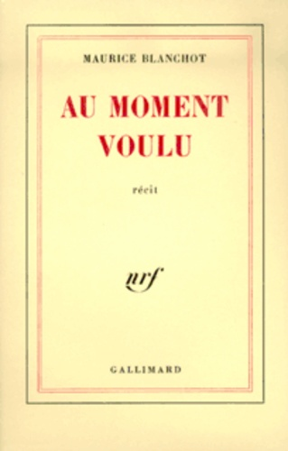 Maurice Blanchot - .