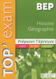 Maurice Brogini - Top'Exam Histoire Géographie BEP.