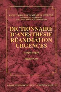 Ucareoutplacement.be Dictionnaire d'anesthésie, réanimation, urgences. Français-anglais Image