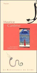 Maurice Carême - Maurice Carême. - Poèmes.