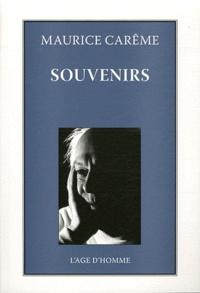 Maurice Carême - Souvenirs.